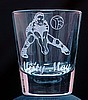 Volleyball Design Customized Sports Shot Glass