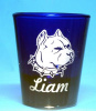 Pit Bull customized Shot Glass
