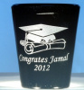 Graduation Shot Glass with Free Name