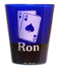 Gamblers Shot Glass Personalized with Name