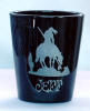 End of Trail Personalized Shot Glass customized with Name