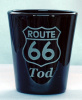 Route 66 Shot Glass customized with Name