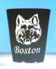 Wolf Shot Glasses personalized with Name