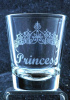 Tiara Personalized Shot Glass customized with Name