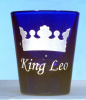 Crown Personalized Shot Glass customized with Name