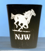 Horse Shot Glass Personalized with Name