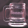 Mug Shot Glass Personalized with Name