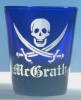 Skull Shot Glass Personalized with Name