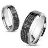 Lords Prayer Stainless Steel Ring Personalized